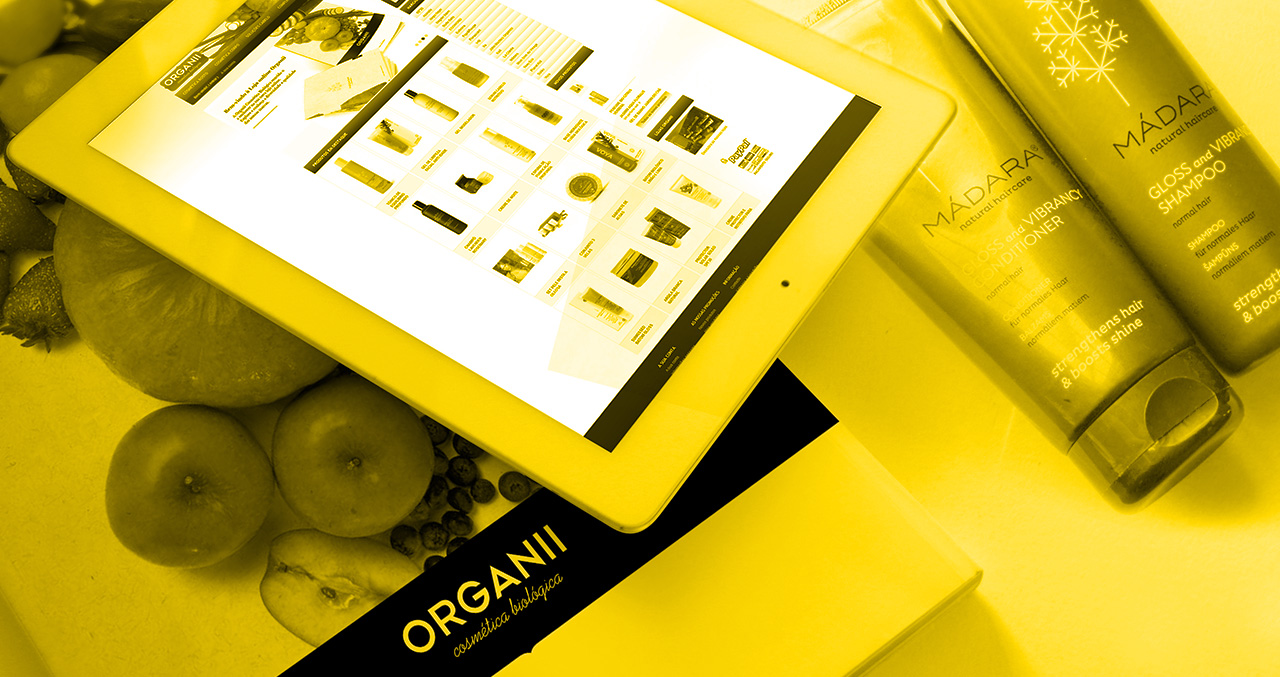 ORGANII Online Shop & Catalogue